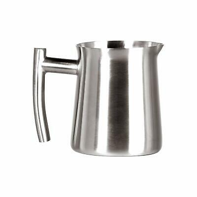 Frieling Steel Pitcher - Frieling 0145 Brushed Finish Creamer Frothing Pitcher, 10 Oz, Stainless Steel