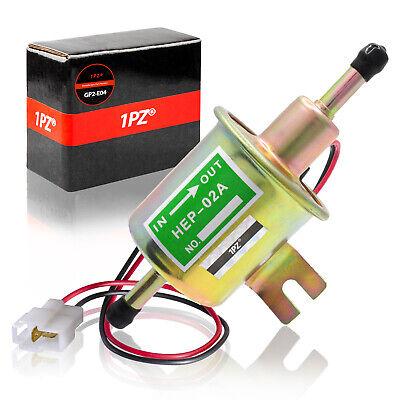 12V Universal 2.5-4 PSI Gas Diesel Inline Low Pressure Electric Fuel Pump HEP02A