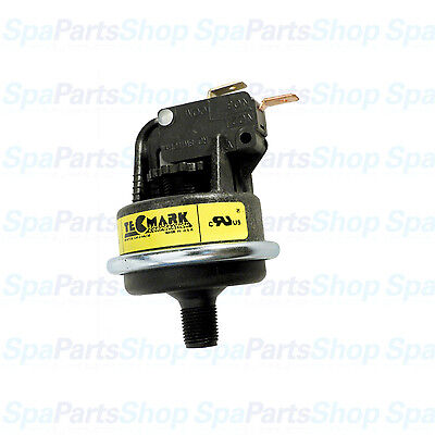 "Tecmark Pool or Spa Heater Pressure Switch 4010P 1-6 Psi 25A SPNO 1/8"""