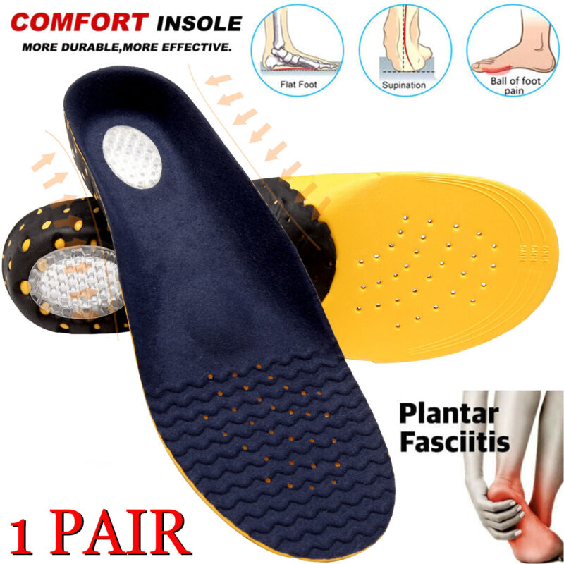Orthotic Sport Running Insoles Insert Shoe Pad Arch Support