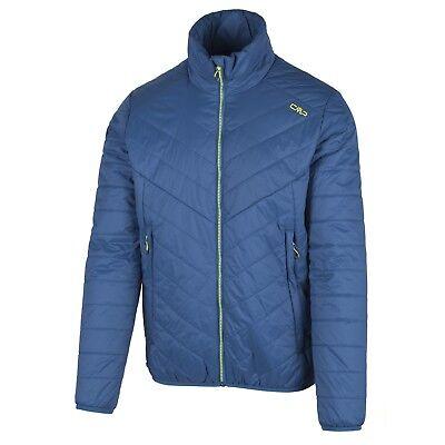 CMP giacca da esterno funzionale trapuntata Blau THINSULATE™ colletto