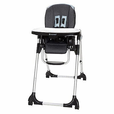 Baby Trend Go Gear Kid Cafe 5 in 1 Infant Baby Toddler Feeding High Chair & Tray