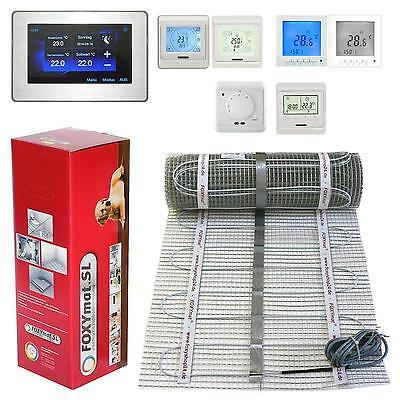 elektrische Fußbodenheizung PREMIUM TWIN 160 Watt 1 2 3 4 5 6 7 8 9 10 m² qm