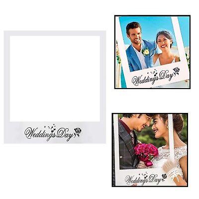 Matrimoni Giorno Accessori Scena Fotografica Cornice Selfie Decorazione Feste