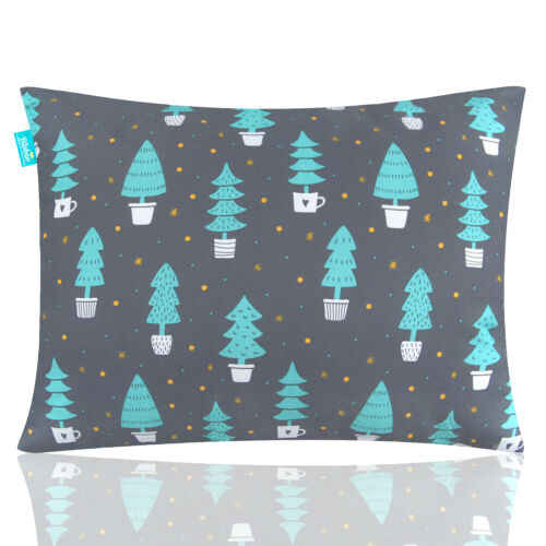 "Toddler Pillow for Sleeping Ultra Soft Satellit Kids Pillow Cute Print 14""x19"""