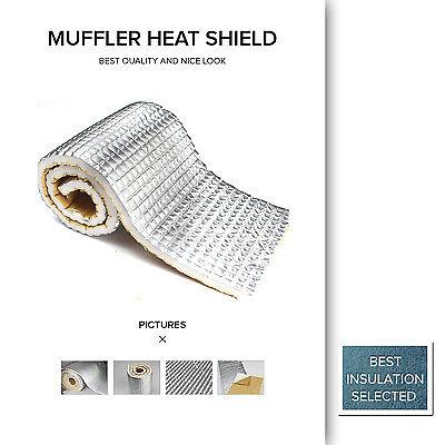 100 x 300cm Sound Deadener Noise Heat Proof Insulation Car Boots Roof 6MM Sheet