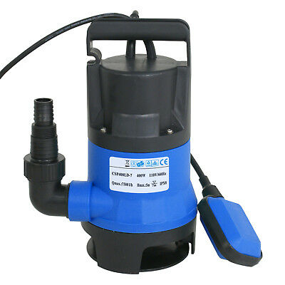 1/2HP 2000GPH  Professional Series Submersible Sump Pump Water Flooding Pond