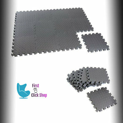 Puzzle Mat Set (Exercise Gym Mat Home Yoga Fitness Floor Foam Pads Exercises Puzzle 12piece)