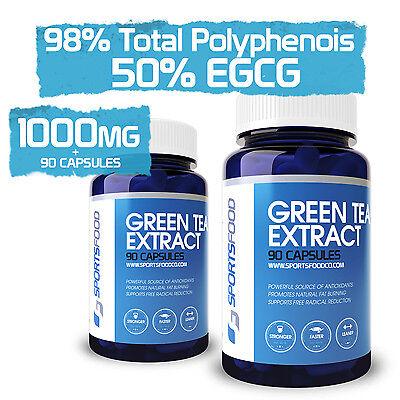 Sports Food Pure Green Tea Extract - 98% Polyphenols 50% EGC