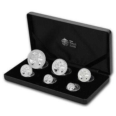 2017 Great Britain 6-Coin Silver Britannia Proof Set - SKU#153103