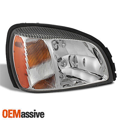 OE Style For 2000-2005 Cadillac Deville Headlight w/ Amber Side Passenger Right