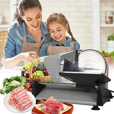 Vilobos 7.5 Electric Meat Slicer Blade Deli Commercial Home Food Cheese Cutter