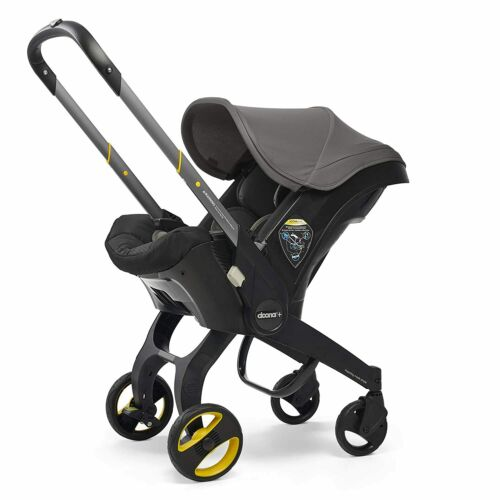 Doona Infant Car Seat & Latch Base - Car Seat to Stroller - Greyhound (US)