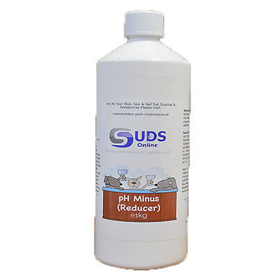 PH MINUS 500G / DRY ACID REDUCER - SWIMMING POOL SPA HOT TUB CHEMICALS