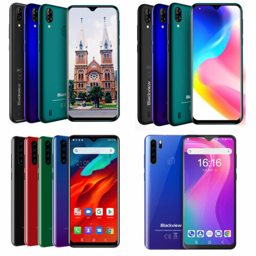 Android Phone - Blackview A80 Pro A60 Pro A60 Smartphone Dual SIM Android 9.0  Mobile Phone UK