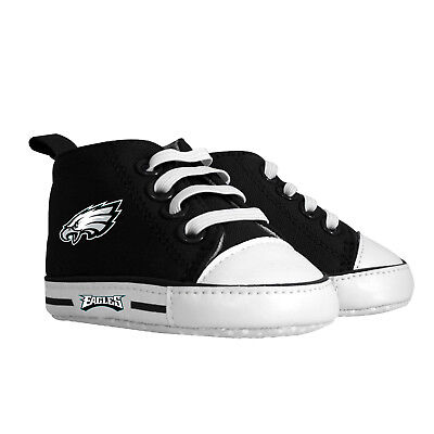 Philadelphia Eagles Baby Clothes (Philadelphia Eagles Pre Walkers Hightop Shoes Sneakers 0-6 Months Baby)