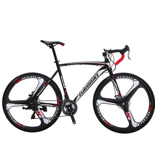 2021 Road Bike Shimano 21 Speed Bicycle 700C Mens Bikes 54cm Daul Disc Brakes XL