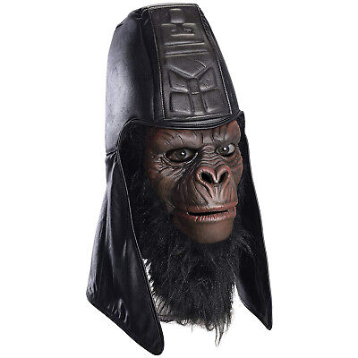 Gorilla General Usurus Classic Planet of the Apes Adult Overhead Halloween Mask