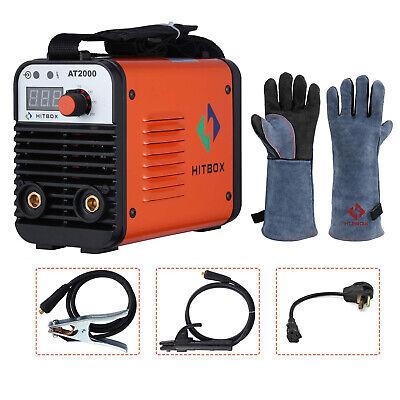 110v220v Mma Arc Welding Machine Portable Dc Igbt Inverter Arc Welder Wgloves