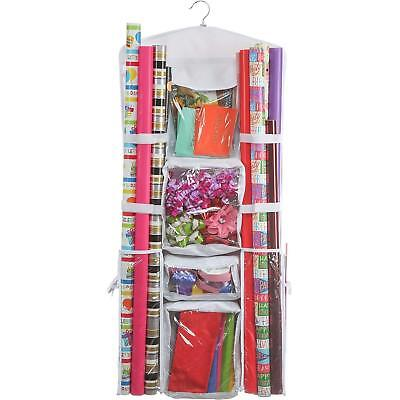 Clorso Wrapping Paper Storage Fits 40 Inch Wrap Rolls with 1