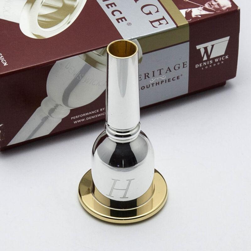 Denis Wick 24K Gold Rim /& Cup Trombone Mouthpiece 5ABL Large Shank