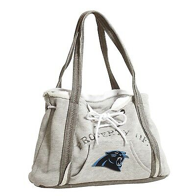 Carolina Panthers NFL Football Team Ladies Embroidered Hoodie Purse Handbag (Nfl Panthers Hoodie)