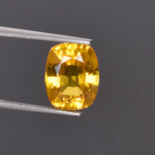5.50 Ct Natural Oregon Flawless Sunstone Yellow Golden Color Certified Gemstone