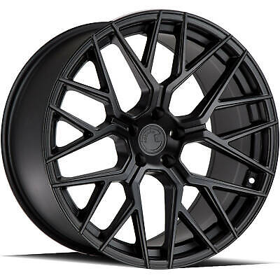 4 - 20x9 Black Wheel Aodhan LS009 5x112 30