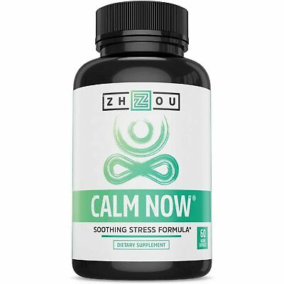 Calm Now Soothing Stress Support Supplement  Herbal Blend Crafted To Keep Busy