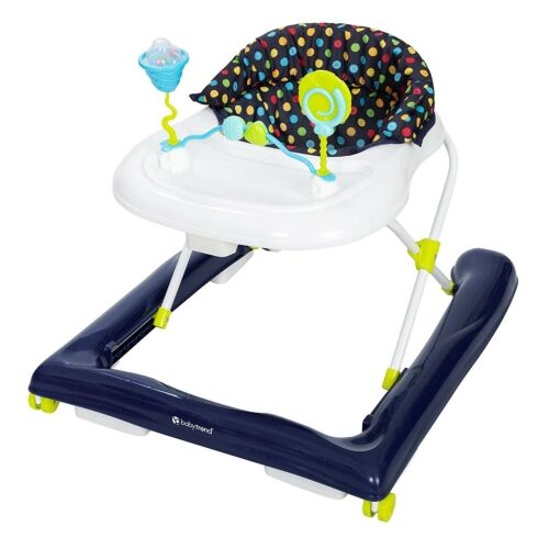 Baby Trend Trend 2.0 Activity Walker, Blue Sprinkles, Blue, NEW