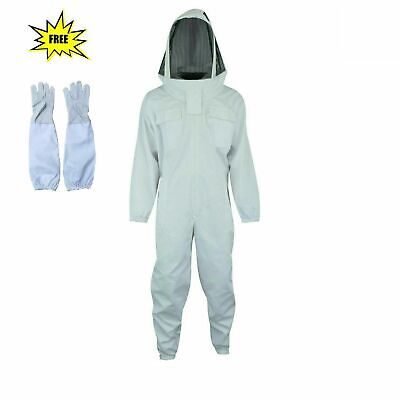 Best Quality Cotton Beekeeping Beekeeper Bee Suit Fencing Veil 2xl