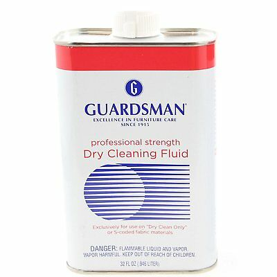 Guardsman Professional Strength Dry Cleaning Fluid Stain Remover Solution 32 oz.