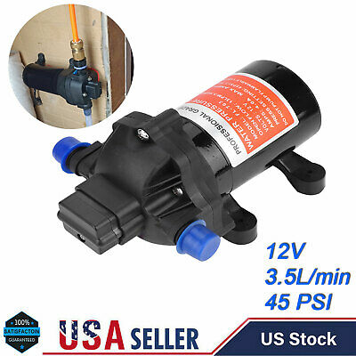 12v Water Pump 45psi Small Pump Diaphragm High Pressure Fully Automatic Switch