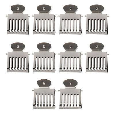10pcs Stainless Steel Beekeeping Clip Beekeeping Equipment Tool