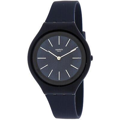Swatch Men's Skindeep SVUN107 Blue Silicone Quartz Fashion Watch