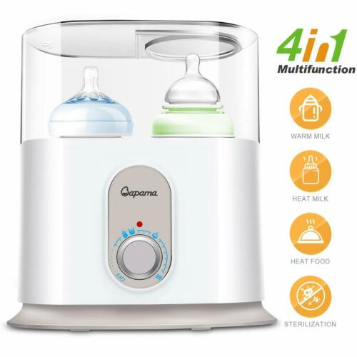 Baby Bottle Warmer 4in1 Automatical Power-Off Precise Temper