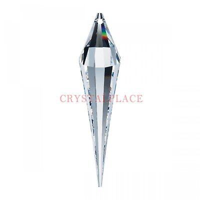 - Swarovski Strass Crystal 76mm Clear Hanging Cone Drop Prism For Chandelier Decor