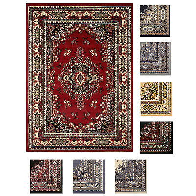 Large Traditional 8x11 Oriental Area Rug Persian Style Carpet -Approx 7