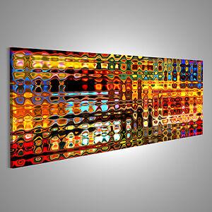 Moderne Kunst Bild auf Leinwand XXL Bilder AKP-Pano