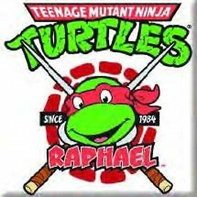 Teenage Mutant Ninja Turtles Raphael Metall Kühlschrankmagnet TV Film Amts ()