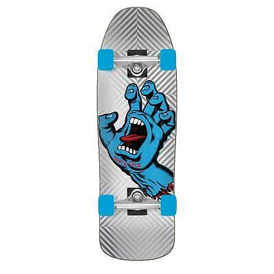 "Santa Cruz Skateboard Old School Cruiser Sceaming Hand Foil 9.35"" x 31.7"""
