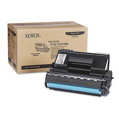New Genuine Xerox Phaser 4510 Black High Yield Toner Cartridge 113R00712 113R712