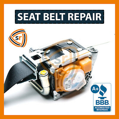 Mercedes-Benz C-Class Seat Belt Repair - Unlock After Accident FIX Seatbelts