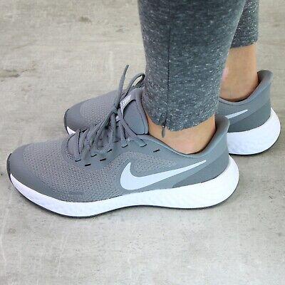 Nike Revolution 5 (GS) Laufschuhe Running Schuh Damen Kinder Grau BQ5671 004