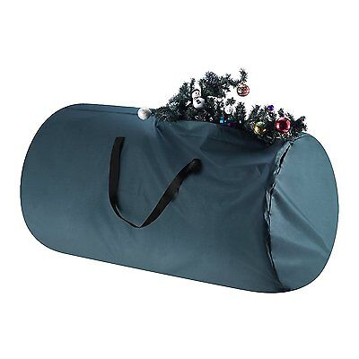 Tiny Tim Totes Green Canvas Christmas Tree Storage Bag- Large For 9 Foot Tree