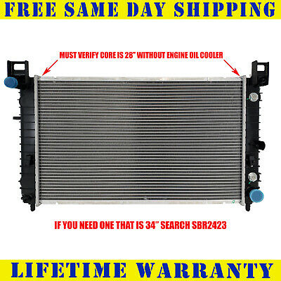 "Radiator For 1999-2006 Chevy P/U 1500 Must Verify 28""Core Fast Free Shipping"