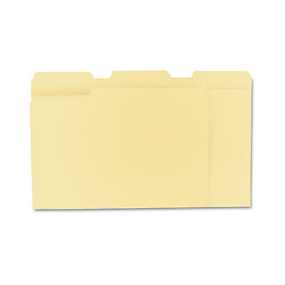 UNIVERSAL File Folders 1/3 Cut Assorted One-Ply Top Tab Letter Manila -