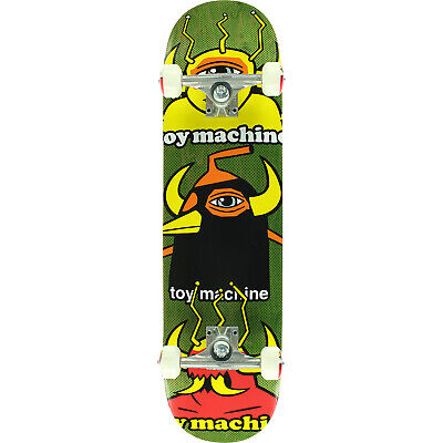 """Toy Machine Skateboards Chopped Up Complete Skateboard - 8"""" x 31.63"""""""