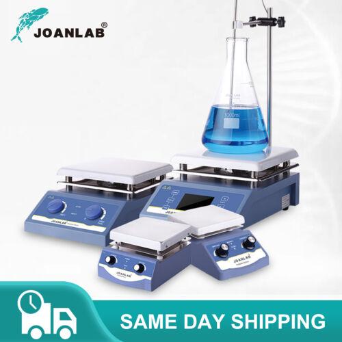 Lab Magnetic Hotplate Stirrer Digital Hot Plate Heating Mixer 1L 3L 5L w/ Holder
