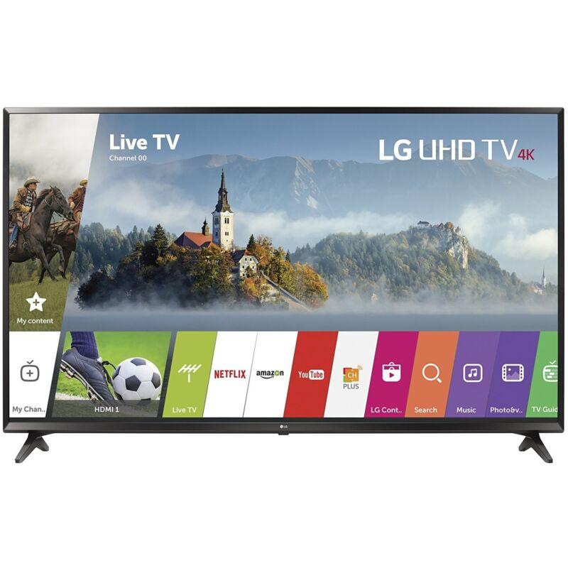 LG 55UJ6300 55-inch 4K Ultra HD Smart IPS LED TV (2017 Model)